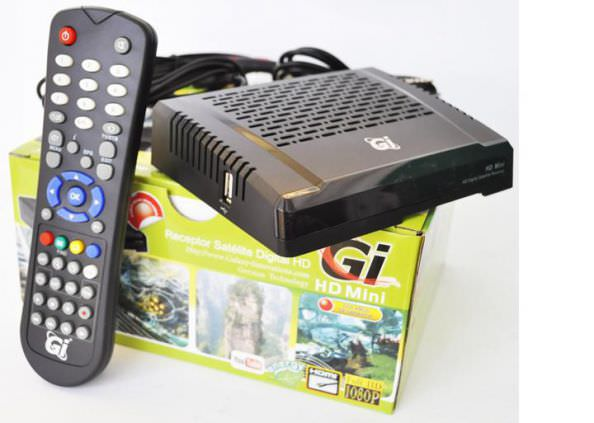 Обзор, настройка и прошивка HD спутникового устройства марки Galaxy Innovations (GI) модели GI HD Mini