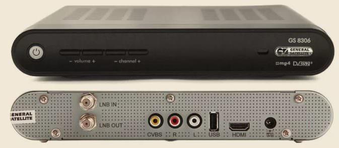 Ресивер gs 8306 и другие модели от оператора Триколор