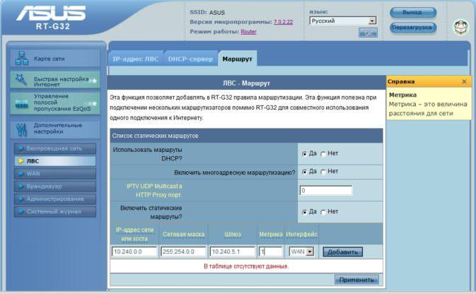 Характеристика Аsus HDP-R1 и настройка IPTV на маршрутизаторах Аsus