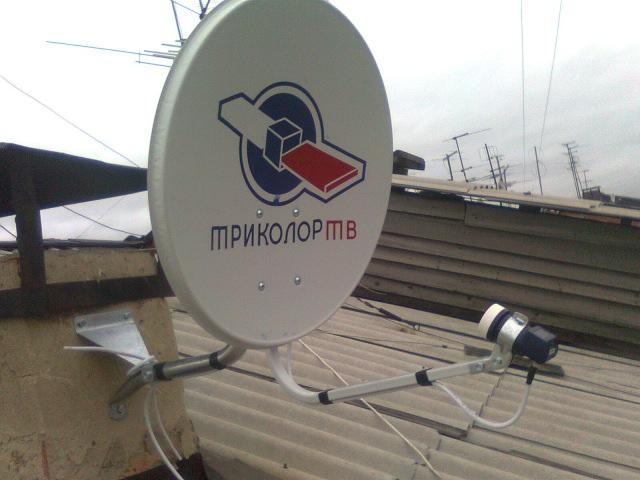Монтаж спутниковой антенны Триколор своими руками