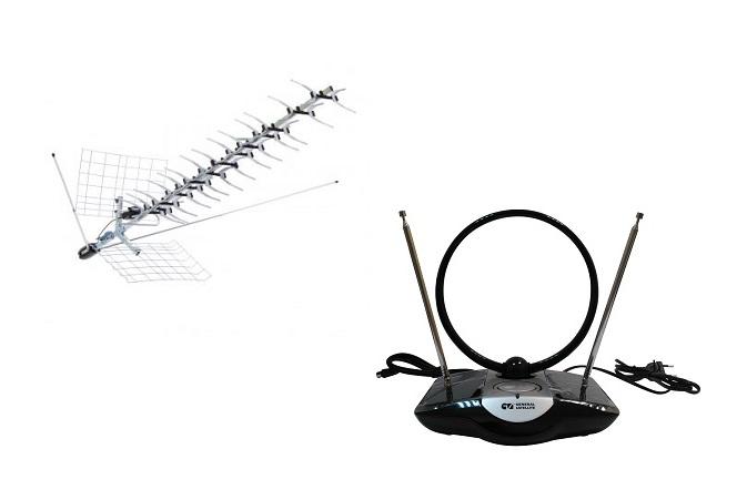 Выбор антенн для цифрового телевидения
