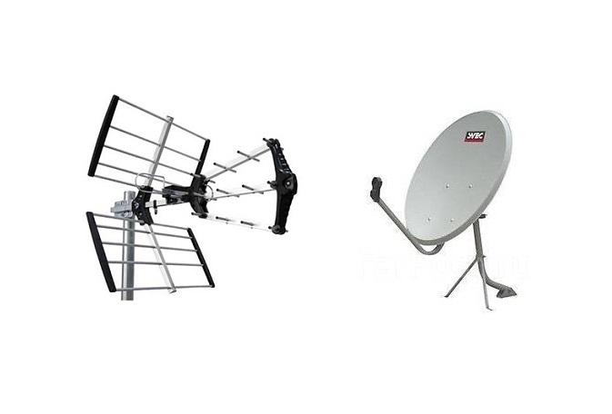 Виды антенн для цифрового ТВ