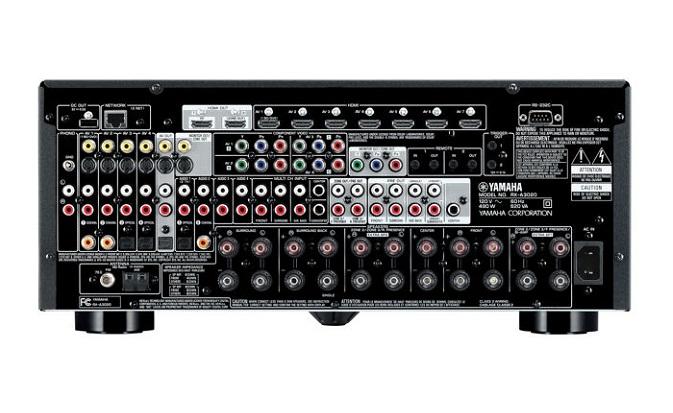 Задняя панель Yamaha RX-V440RDS
