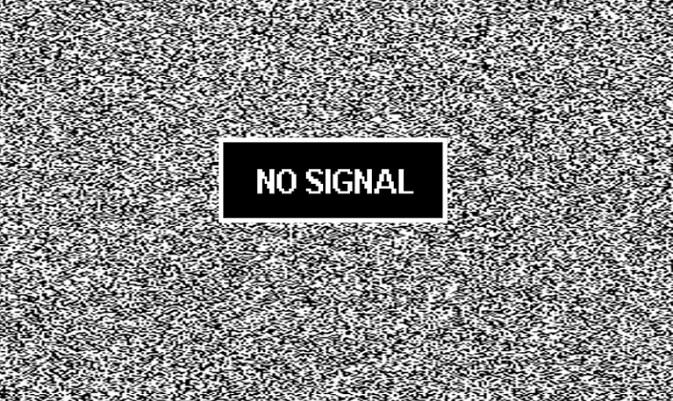 Плохой сигнал антенны