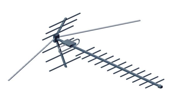 Эфирная антенна ДМВ