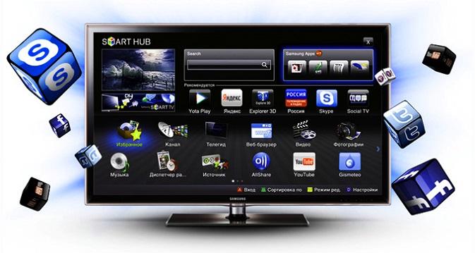Смарт ТВ в телевизоре