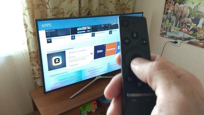 Повторная установка приложения Смарт ТВ