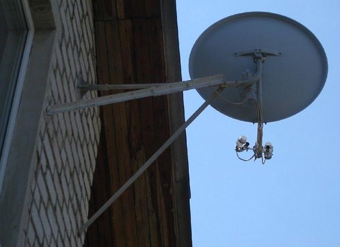 Установка антенны Телекарта