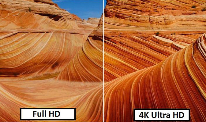 4К ролики для проверки ТВ