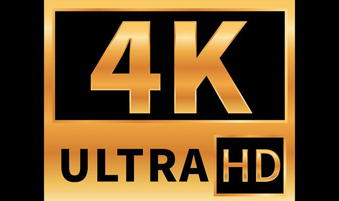 Наклейка с надписью «Ultra HD»