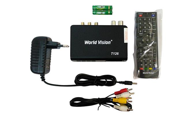 Цифровой тюнер World Vision T126