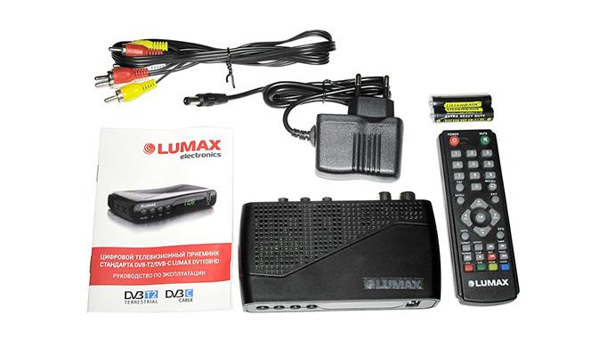 Цифровой тюнер Lumax DV 1108HD