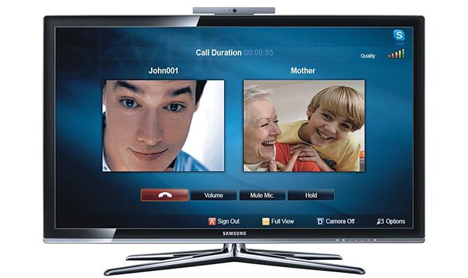 Skype на телевизор Samsung